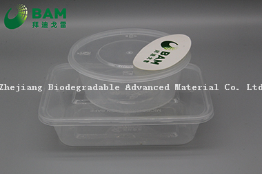 Manufacture Fully Biodegradable Compostable Food Grade Sugarcane Plant Fiber Canteen Takeaway Food Containers
