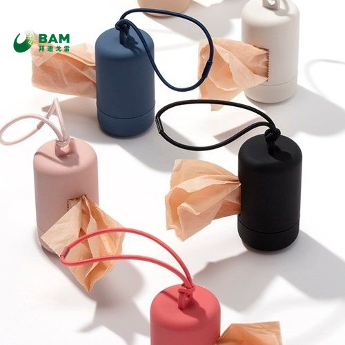 Biodegradable Wholesale Custom Printed Plastic Pet Small Poop Waste Bags for Dog Pet Disposal Poop on Roll