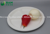 Fully Biodegradable Dividing 4 Compartment Compostable Sugarcane Plant Fiber Bakery Takeaway Food Package Round Plate for Dessert Cake