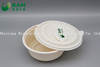 Safety Eco Disposable Biodegradable Tableware Cornstarch Plate for Serving Edible Hot Food